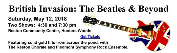 British Invasion: Beatles & Beyond - the Reston Chorale