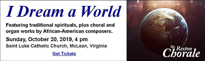 The Reston Chorale - Fairfax County Choir